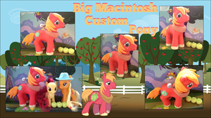 My little Pony FIM Big Macintosh Custom by Asukatze