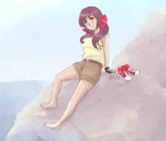 seychelles at the beach by maybebaby83
