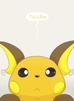 Raichu by YellowHellion