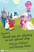Note from the Royal Couple by StupidPoptart