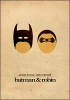 Batman and Robin - Film Poster by BrentonPowell