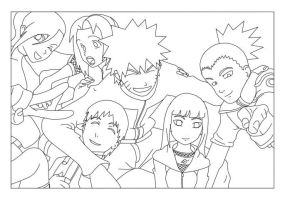 naruto lineart 5 by scarface8882