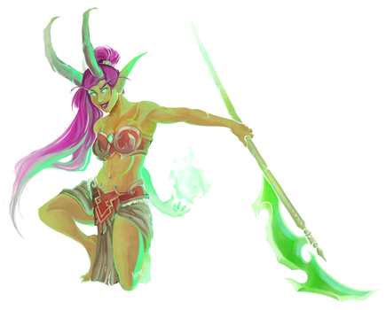 Demon Hunter by bylacey