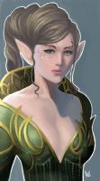 Elf Princess by hifarry