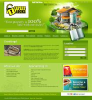 locksmith website unaccepted by BraveDesign
