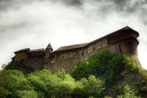 Slovakian castle by Witoldhippie