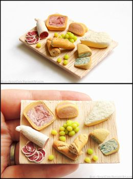 French Cheese Board - Magnet by Bon-AppetEats
