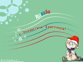 Christmas Russia Wallpaper by Flutter-Butter