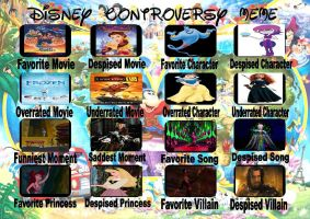 Disney Controversy Meme by Jdailey1991