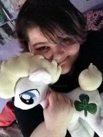 MLP Plush Commission Niall made it to England by CINNAMON-STITCH