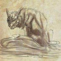 present2- WhiteSpiritWolf by WolfRoad