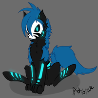 Echo Sit by AoiFoxtrot
