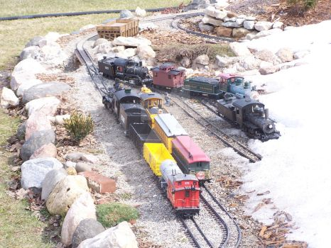 Spring 2011 Eagle Rock Railroad Roster by Darkriderexe