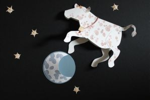 The Cow Jumped Over The Moon by zigan-with-felines