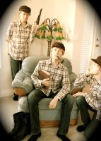 Father and Sons by A-Glass-Brightly