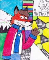antho the fox by richpuma