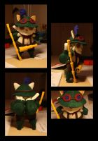 Captain plushie teemo by Nitrea