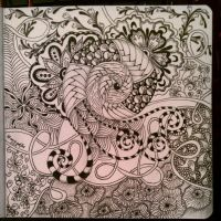 My Zendoodle 365-project, day45 by Nadik