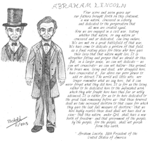 Abraham Lincoln and the Gettysburg Address by WishExpedition23