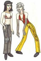 Young Melinroh and Yoko by Jessplus10