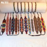 Bracelets made in May 2015 by Kleinevos70