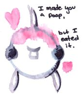 I made you a poop by yeffyaboyuice