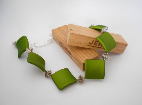 For Sale: Geometrick Necklace by Wirejeweller
