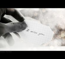i miss you by birazhayalci