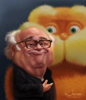 Danny DeVito by creaturedesign