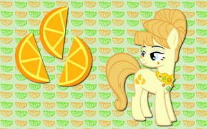 Aunt Orange wallpaper by AliceHumanSacrifice0