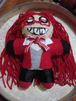 Grell Doll by wolfmeg