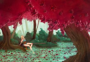 River of flowers by Isyll--8
