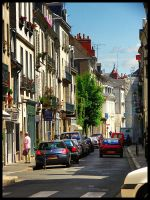The streets of Tours - France by simoner