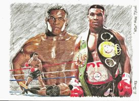 Iron Mike Tyson by eazy101