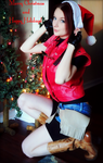 Merry Christmas With Love, Claire Redfield by Hamm-Sammich