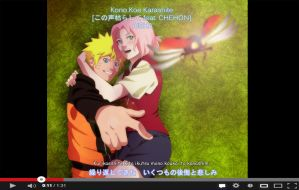 NaruSaku Screen Cap by Palmtop-Peanut