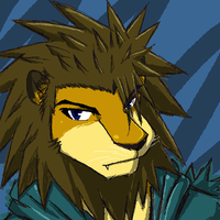 Axel The Lion - color test by WarGreymon43