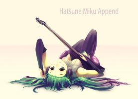 Miku Append by Butjok
