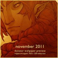 2011 November Donation Wallpaper Preview by DemonRoad