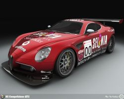 Alfa Romeo 8C GT1 by AfroAfroguy