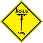 Jesus Xing sign by Cartoondiablo