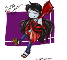 Marceline , the Vampire queen by maxmore