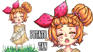 Potato-Tan by GoddessHylia