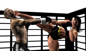 MMA Beatdown 1 by Soldier2000