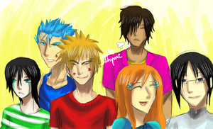 Orihime's Boys by goldenthyme