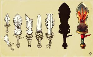 Swords concepts by hision