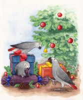 X-mas Greys by asio-otus-otus