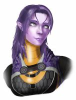 Tali unmasked by spaceMAXmarine
