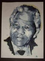 nelson mandela by ben-e-mac