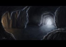 Cave - Concept Art by mhofever
